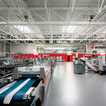 Bobst, a recognisable brand
