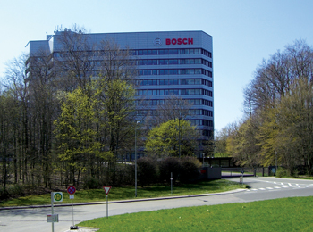 Bosch's headquarters in Stuttgart, Germany
