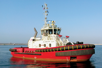 The tug Al Luolo' Aya