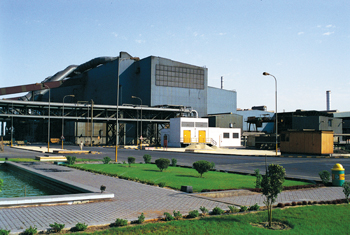 Exterior of the Hadeed plant
