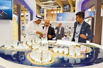 Gulf Property Show. Scene at the 2015 edition