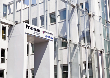 Prysmian Group's headquarters in Milan, Italy