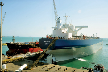 Vessels docked at Asry for repairs