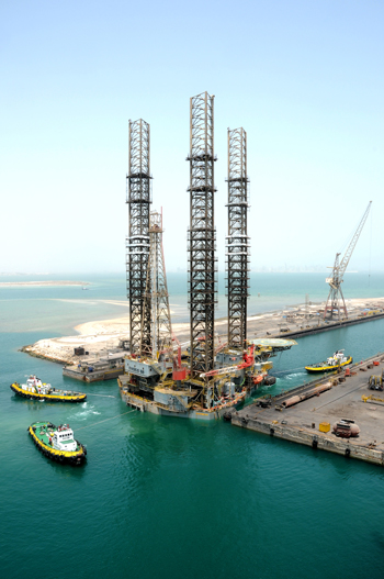 The company has much expertise in the repair of rigs