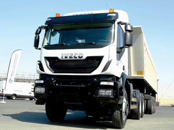 A Trakker truck with advanced EuroTronic automated gear box