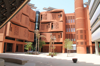 The Masdar Institute, a well-known landmark in the city