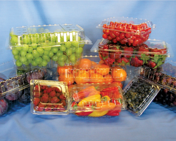 Among the exhibits will be plastic material for the packaging of food items