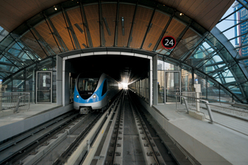 The metro will be a significant contribution to the Gulf's metro rolling stock and other assets