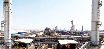 The LLDPE plant, first in the Sadara complex to be completed and operational