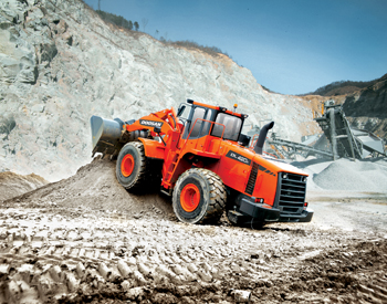 Doosan's wheel loader DL420