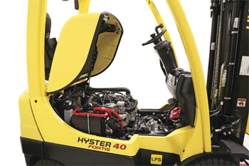 PSI engine with Hyster Variable Power Technology