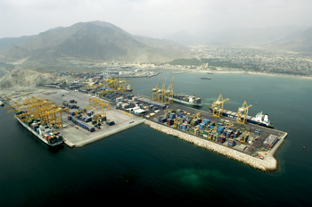 The Khorfakkan terminal has collected a number of accolades over the years for management efficiency