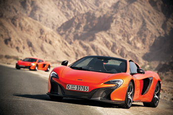 McLaren's 650S: much acclaimed