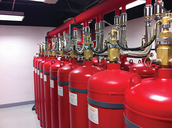 Fire extinguishers from Scientechnic