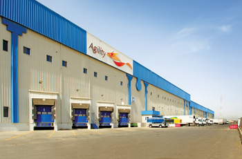 An Agility warehouse in Kuwait