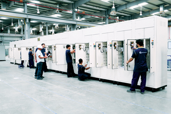 An alfanar production facility for the electrical market