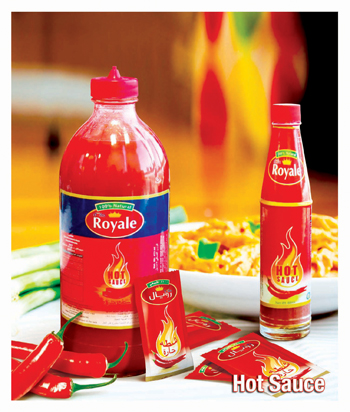Hot sauce products from Delta