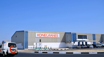 Konecranes' Middle East parts centre in Dubai