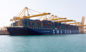 Cargo at Jebel Ali Port