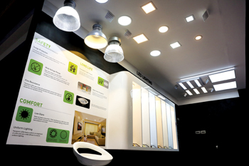 The company's LED products