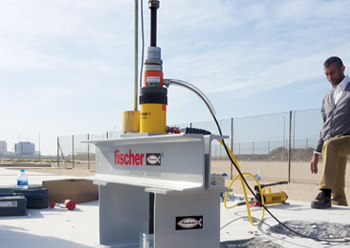 fischer provides installation trainings for end-users at site