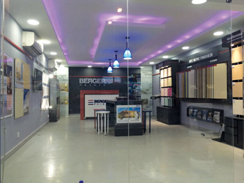 Berger Paints is setting up new showrooms for its customers