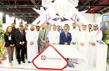 Eram Group's stand at Wetex 2016
