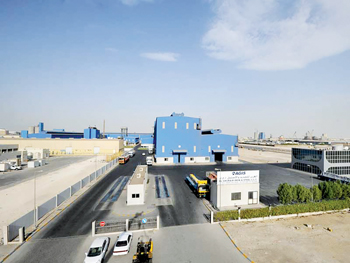 The installed capacity at Agis is now 400,000 tonnes per annum