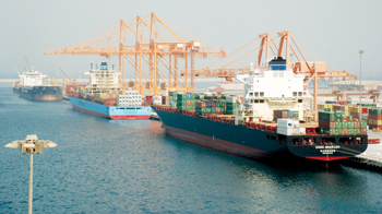 Seatrade Maritime Middle East takes place in Dubai from October 31 to November 2