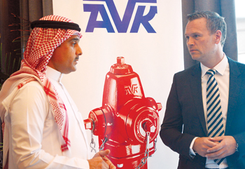 KAEC and AVK officials: a new partnership