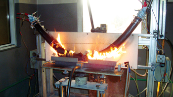 Ducab's new fire test facility is equipped with the latest laboratory