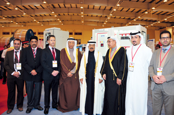Uneeco management team with HRH the premier