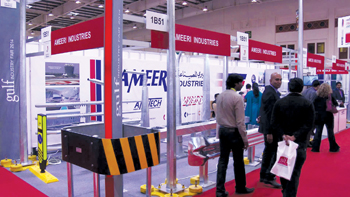 Ameeri Industries at a previous Gulf Industry Fair show