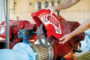 The new Collapsible Gate Valve Lockout