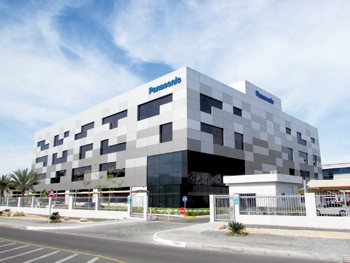 Panasonic Avionics facility in Dafza
