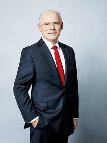 Wacker Chemie president and CEO Rudolf Staudigl