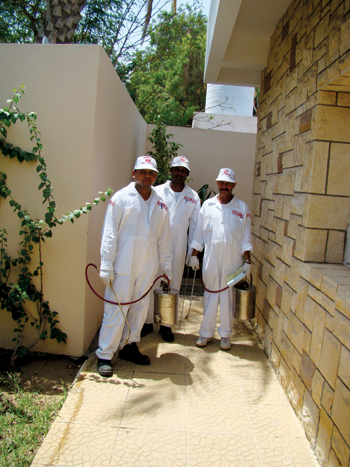Masa pest control technicians: ready to accept challenges