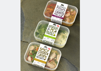 Label rolls for convenience foods constitute one of the main applications of new technology