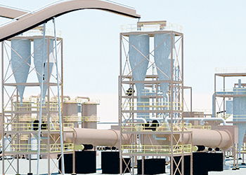 Oman Antimony Roaster is currently under construction in the free zone of the Port of Sohar