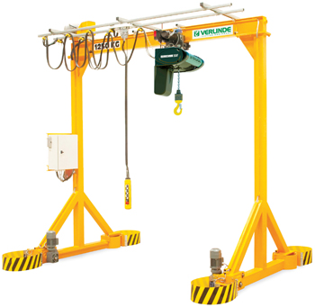 The VGI and VGIM ranges of gantry cranes are different one from the other