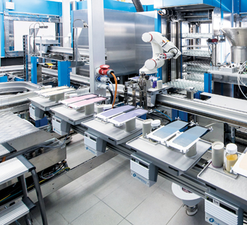 120 samples a day can be formulated and tested by the new high-throughput system