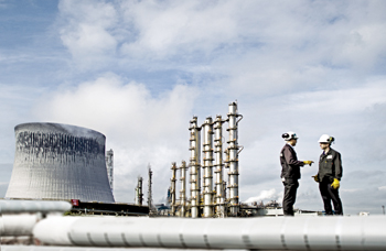 Sabic operates in a competitive petrochemical industry