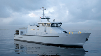 The new vessels are based on Damen's Stan Patrol 2606 Foreign Military Sale (FMS) design