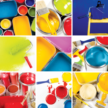 The acrylic resin segment dominated the paints and coatings market in 2016