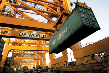 DP World saw a strong volume growth across all three DP World regions