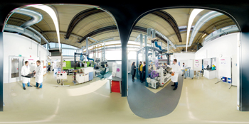 Evonik has also built its own test facilities: the Evonik Technical Centre in Essen, Germany