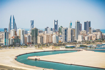 Aluminium wire topped the list of exported products from Bahrain