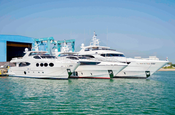 Gulf Craft has chosen to display Majesty 100 in Germany