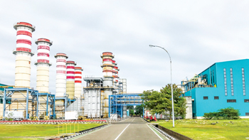 Muara Tawar combined cycle power plant in West Java, Indonesia