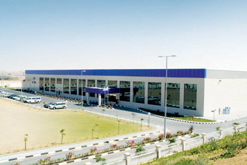 Falcon Technologies' DVD factory in Ras Al Khaimah